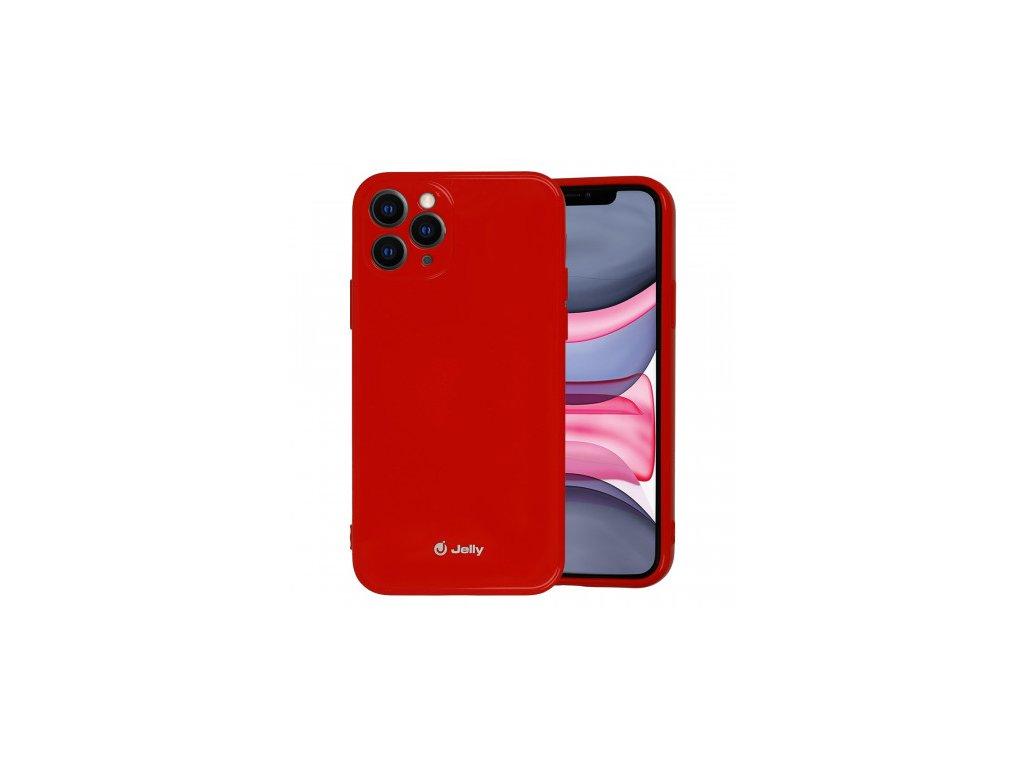 jelly case iphone 11 pro cerveny