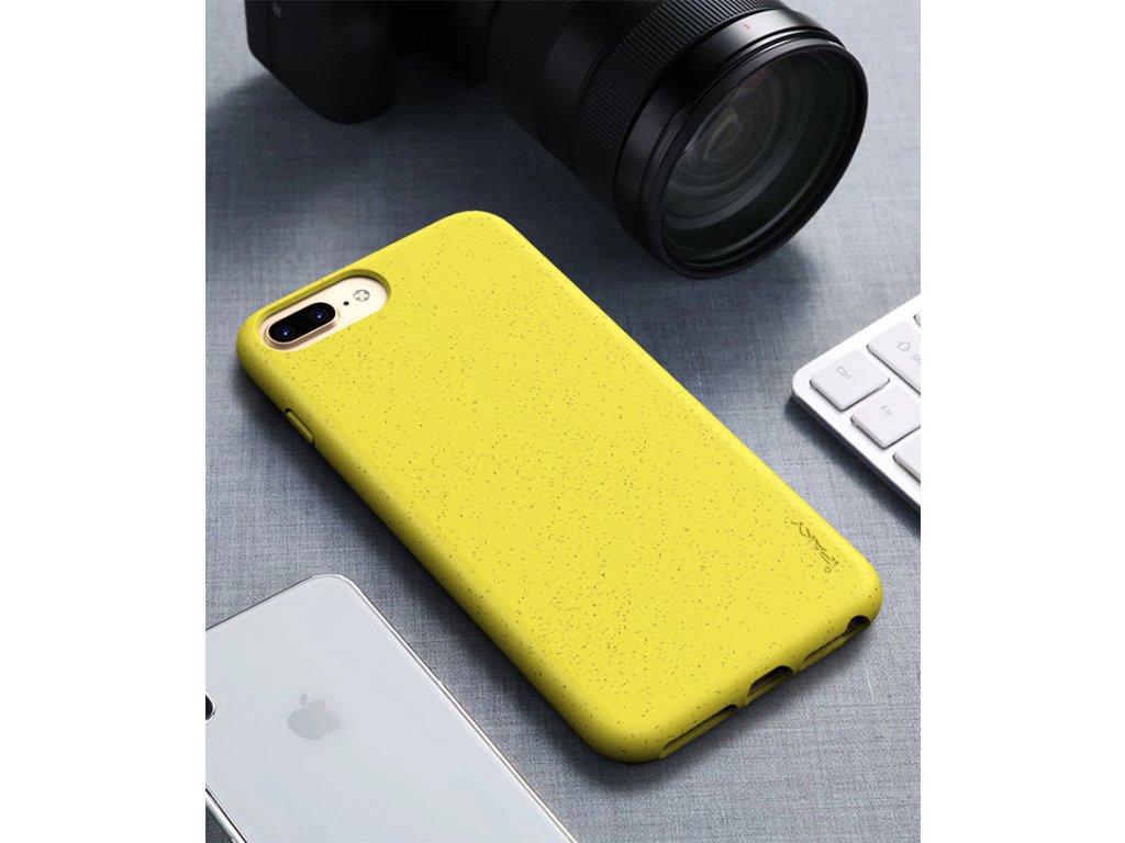 Puzdro iPaky Eco iPhone 6/7/8 Plus žlté