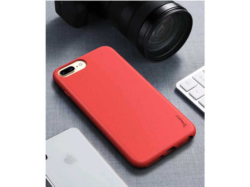 Puzdro iPaky Eco iPhone 6/7/8 Plus červené