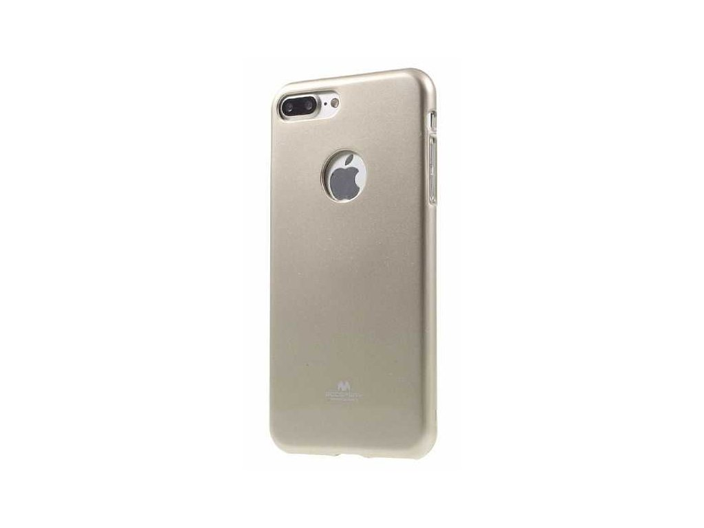 Mecury Jelly púzdro pre iPhone 7 Plus zlaté