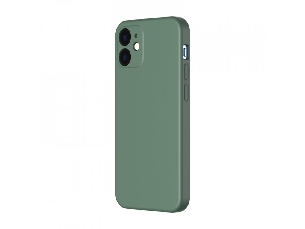 baseus liquid silica gel protective case for iphone 6 1inch 2020 green