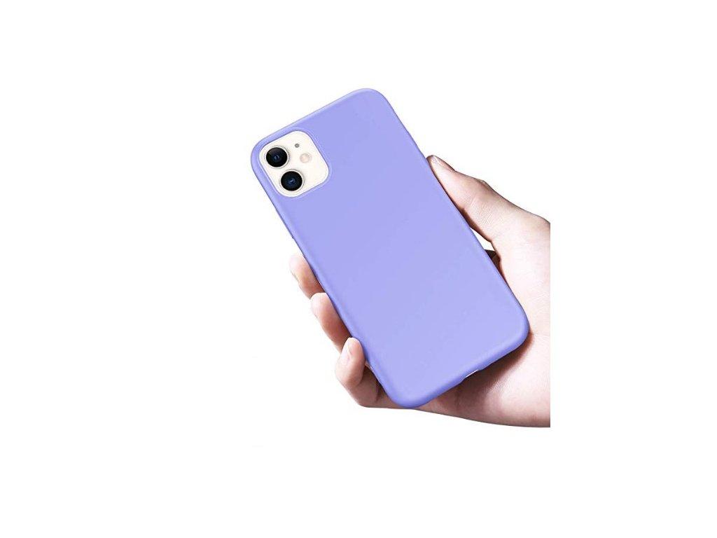 Silikónové púzdro X-level iPhone 11 (Farba Broskyňová)