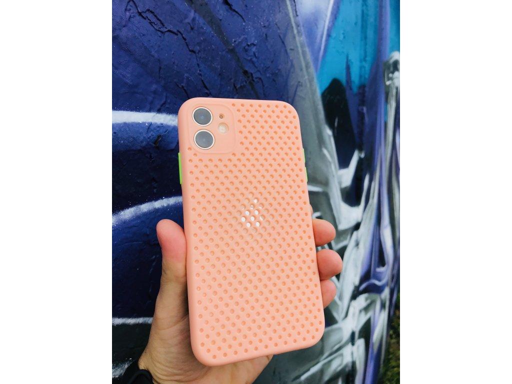 Silikónové púzdro Air pre iPhone 12 Mini ružové