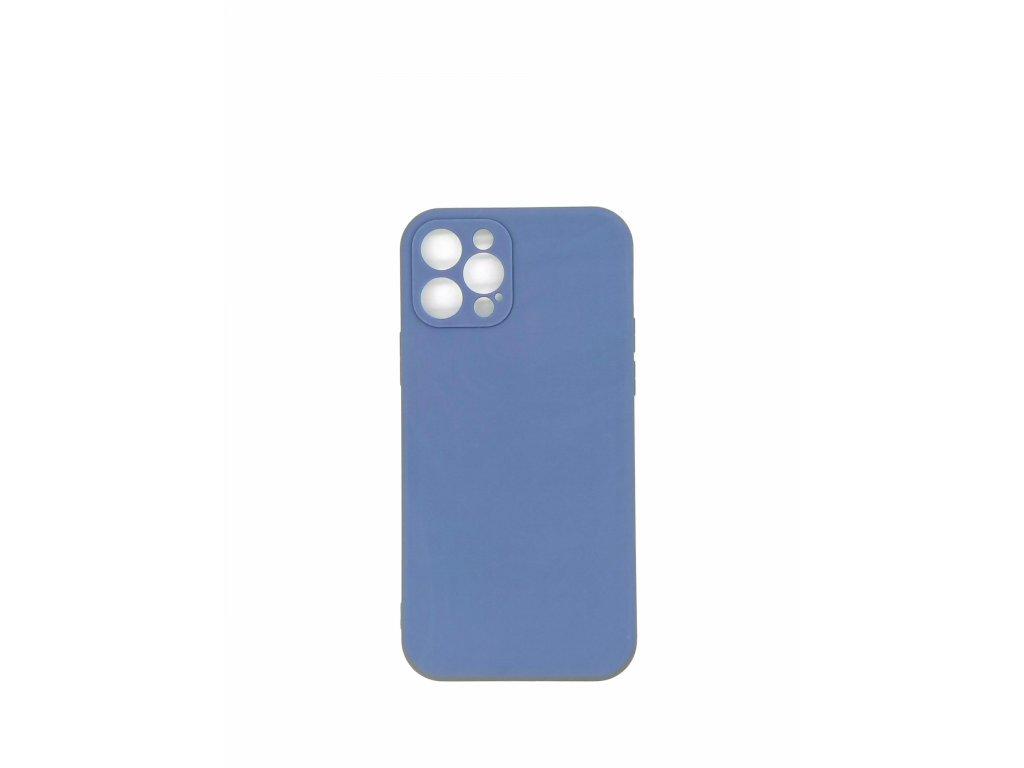 Silikónové púzdro pre iPhone 12, modré