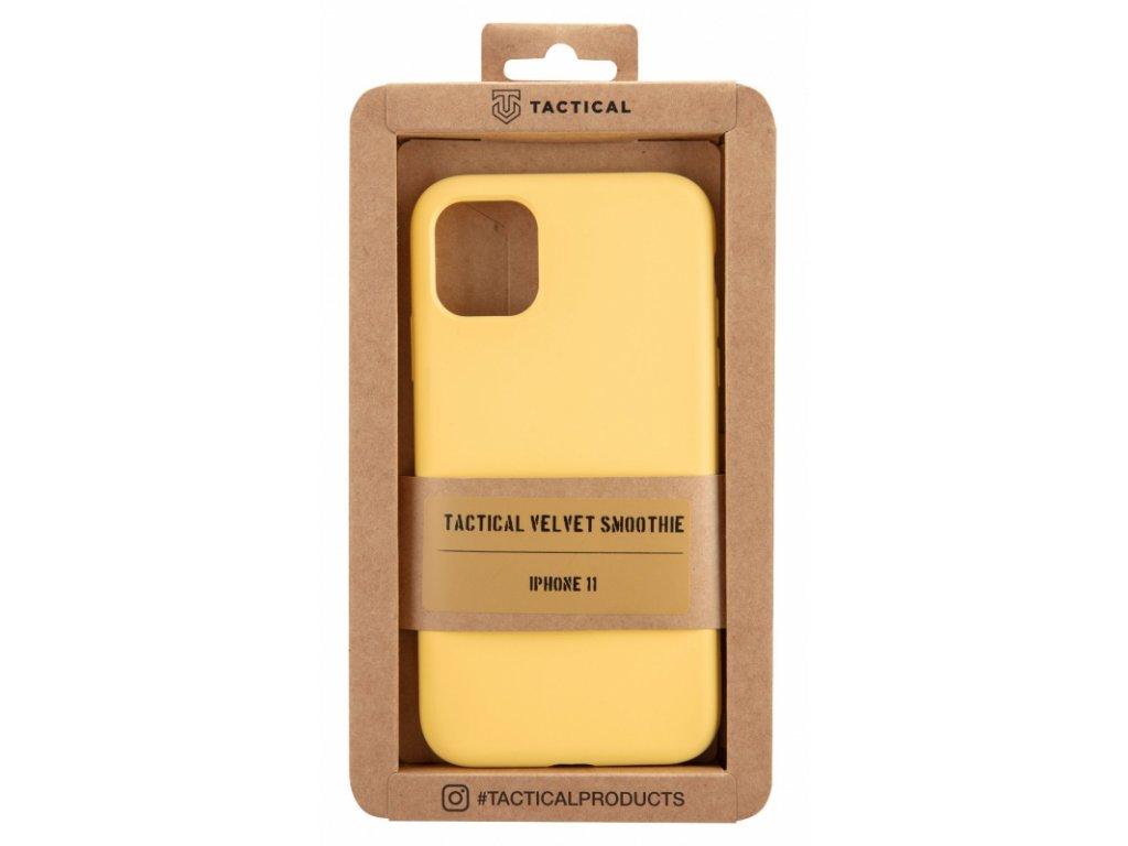 Tactical Velvet Smoothie Kryt pro Apple iPhone 11 Banana