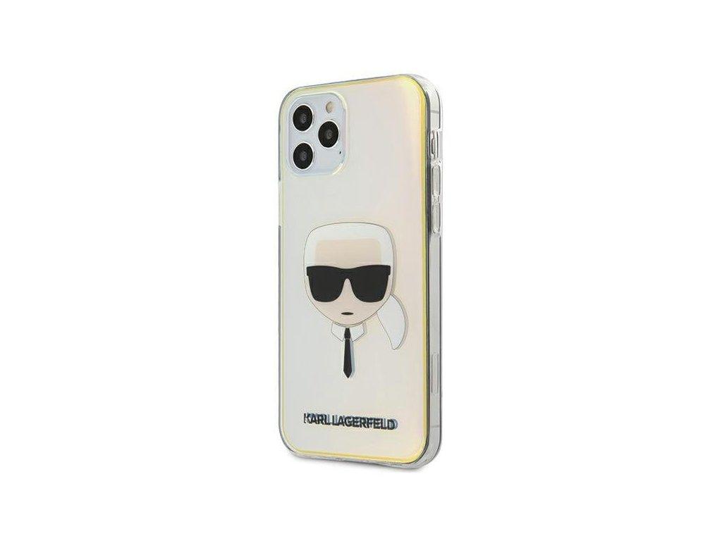 Karl Lagerfeld KLHCP12LPCKHML iPhone 12 Pro Max 67 multicolor hardcase Iridescent Karls Head 1