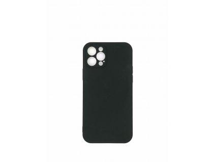 Silikónové púzdro pre iPhone XR, čierna