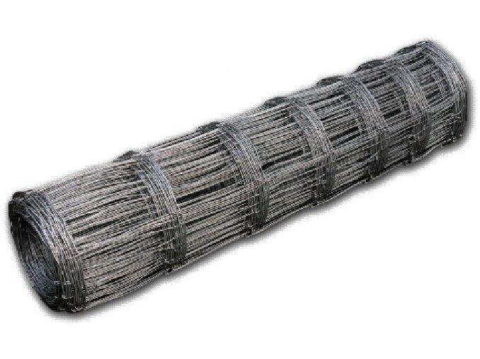 Lesnické uzlové pletivo, výška 80 cm, 1,6/2,0 mm, 5 drátů