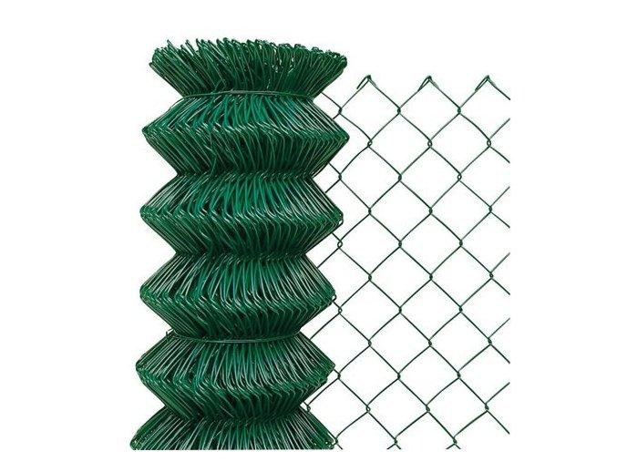 Pletivo poplastované 125 cm výška bez ND (2,4mm,60x60,zelené)