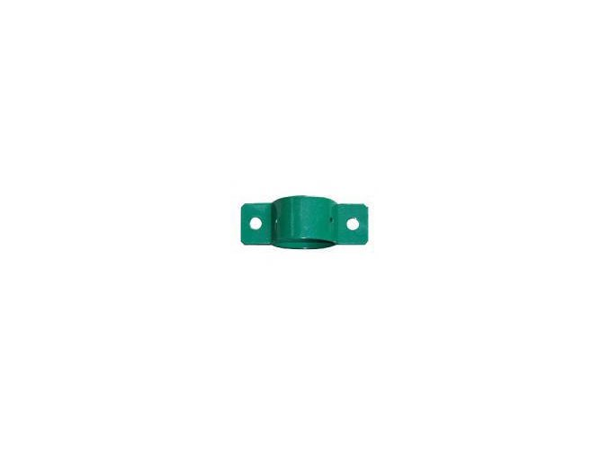 Objímka průběžná průměr 48 mm zelená