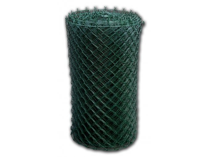 Pletivo poplastované 160 cm výška s ND (2,5 mm,50x50,zelené)