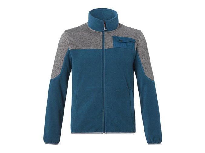 STIHL Fleecová bunda modrá