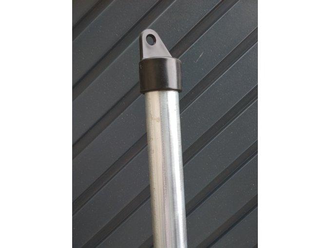 Vzpěra pozinkovaná průměr 38 mm, výška 300 cm