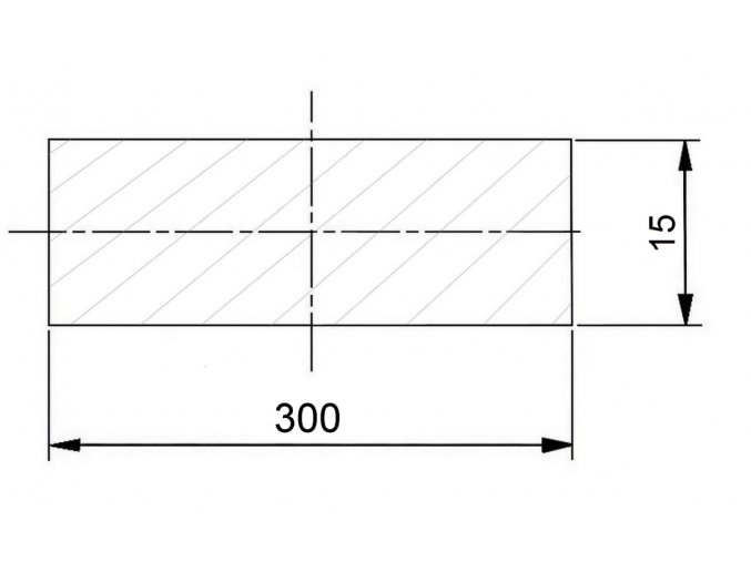 300 x 15 mm