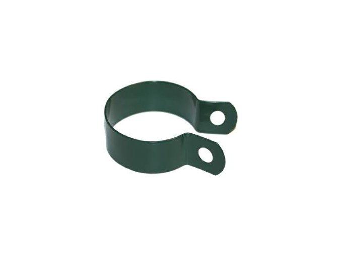 Objímka na sloupek Zn + PVC průměr 60 mm