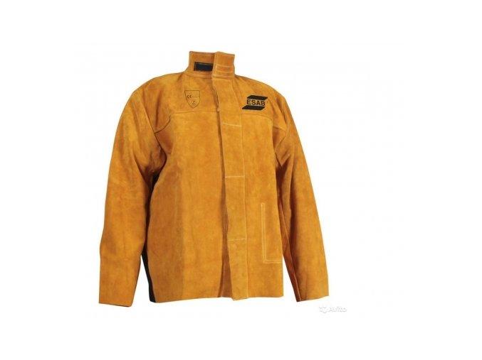 Svařovací celokožená bunda XL