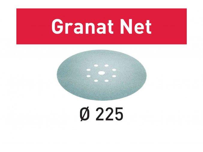 Brusivo s brusnou mřížkou Granat Net STF D225