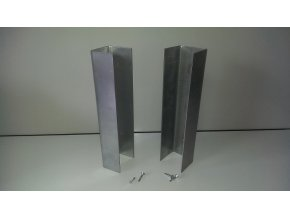Držák podhrabové desky 20/5,5cm/zn