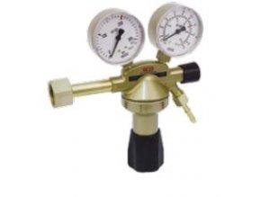 Lahvový redukční ventil  OXID UHLIČITÝ /CO2/DIN + ARC N2