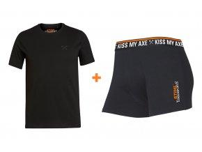 Boxerky + tričko Axe
