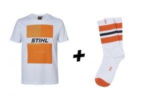 tričko + ponožky