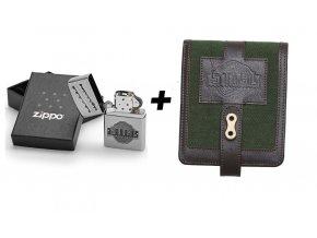zapalovač + peněženka