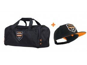 Čestovní taška Axe + kšiltovka Axe