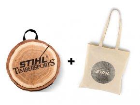 Polštářek + taška látková