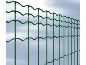 Svařované pletivo Everplax, drát 2,5 mm, oko 50x100 mm, výška 81 cm PVC zelená