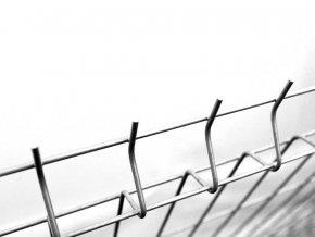 Plotový panel STANDARD Zn, výška 203 cm