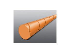 Struna kulatá žací tichá 2,4 x 86 m