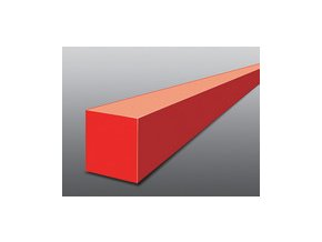 Struna čtvercová žací 2,4 x 434 m