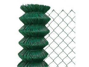 Pletivo poplastované 160 cm výška bez ND (2,4 mm,60x60,zelené)