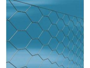 Králíčí pletivo TREFORT, pozinkované, oko 13 mm, výška 100 cm, role 50 m