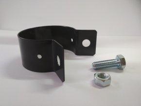Objímka na sloupek Zn + PVC průměr 48 mm Antracit