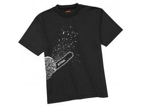STIHL Funkční triko Dynamic Mag Cool, černé