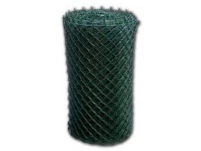 Pletivo poplastované 125 cm výška s ND (2,5 mm,50x50,zelené)