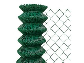 Pletivo poplastované 160 cm výška bez ND (2,4 mm,50x50,zelené)