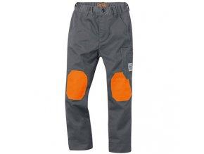 Dětské kalhoty šedé