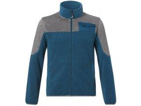 Fleecová bunda modrá