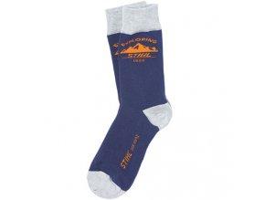 "Ponožky ""exploring"" modré"