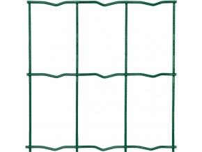 Svařované pletivo Novaplax, drát 2,2 mm, oko 60x100 mm, výška 122 cm PVC zelená