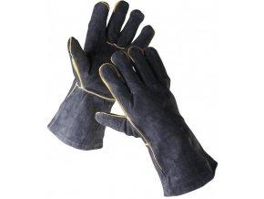 svář rukavice černé