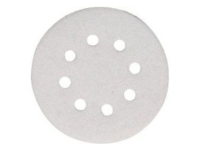 Brusný papír pro excentrické brusky průměr 125 mm, suchy zip