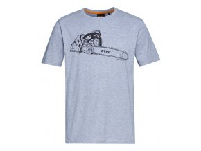 Tričko MS 500i šedé