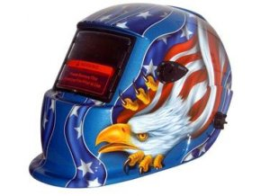 Svařovací-kukla Alfa in S777 Amerika modrá