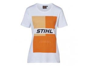 Tričko dámske STIHL bílé