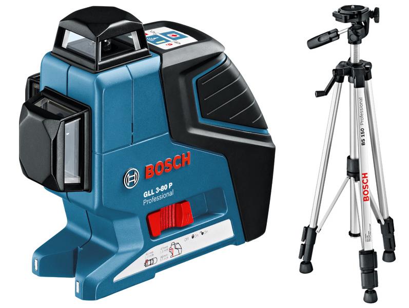 GLL 3-80 multičárový laser + LP 12-UM