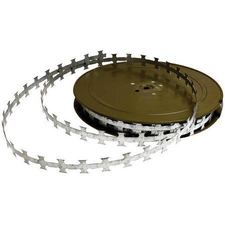 Žiletkový drát, plochá páska 50 m