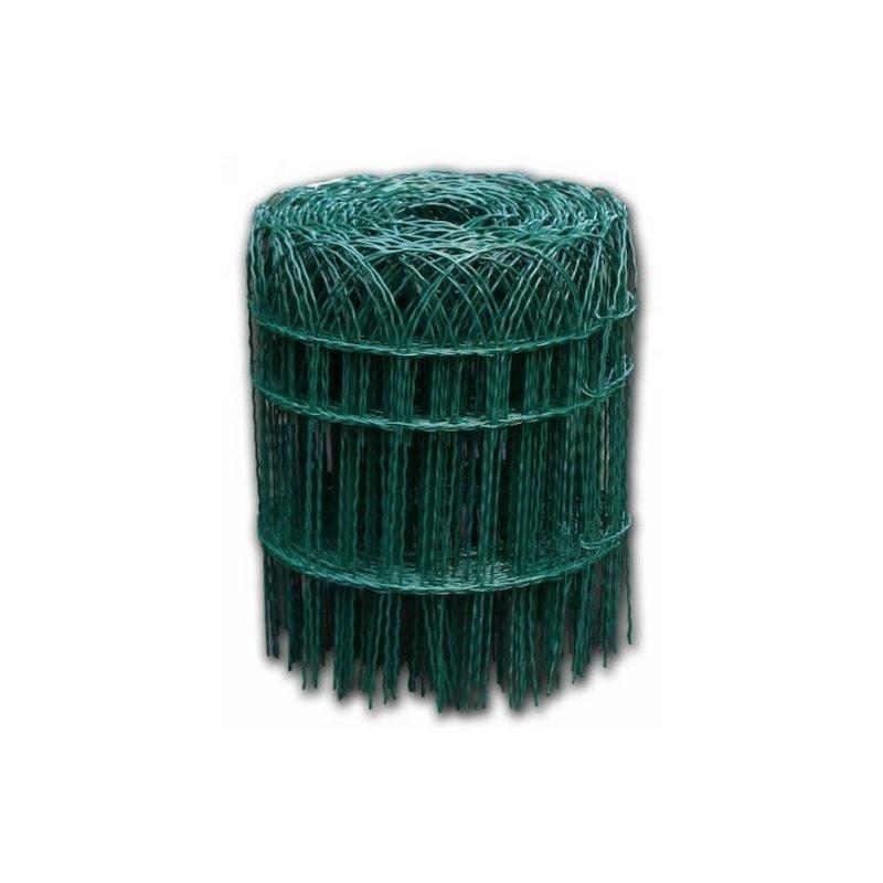 Okrasné pletivo ARCOPLAX, výška 90 cm zelené, balení 10 bm